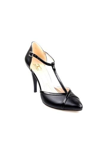 Oc (35-39) Siyah Abiye Stiletto Ayakkabı Siyah